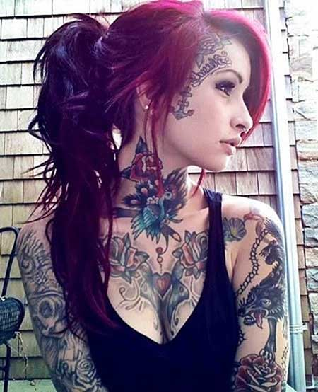 Tattoos, Tattoo Girl, Inked Girl, Face, Tattoos Piercing, Ink, Neck Tattoo, Beautiful