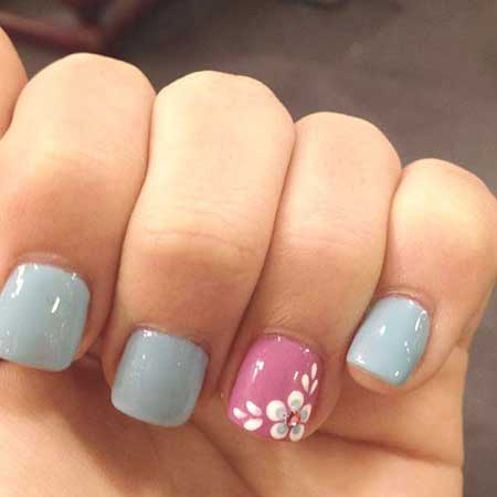 25 simple spring nail art designs 2017