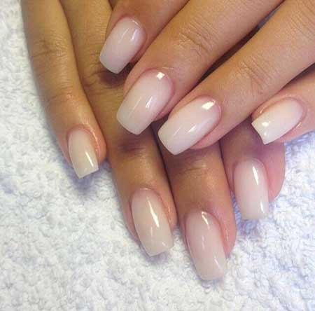 Nails Summer Simple White - 10