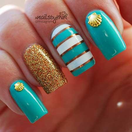Nails Summer Beach - 10