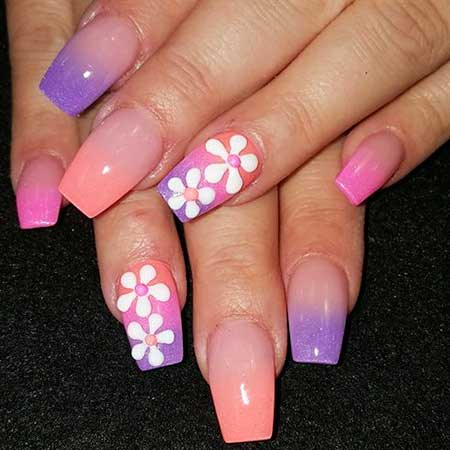 Nail Design, Nail Art 2017, Pink, Pink, Nail Idea, Acrylic, Art, Pretty Nail
