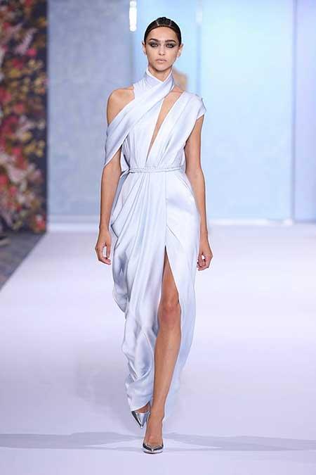 High Fashion Dresses Runway - 11