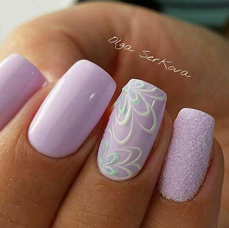Nail Design, Nail Art 2017, French Manicure, Purple Nail, Lace Nail, Pink, Polish, Pink