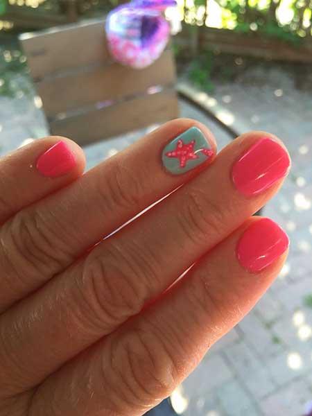Summer Nails Summer Beach - 11