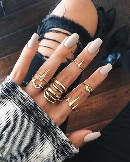 Nail Ring, Nail Design, Rings, Nail Art 2017, Rings, Grey Nail, Black Nail, Accessories