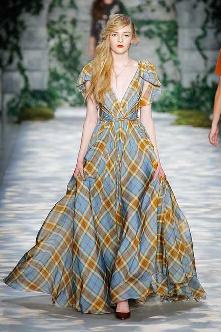 High Fashion Dresses Runway - 12
