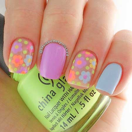 Nail Design, Nail Art 2017, Summer, Art, Art, Polish, Pink
