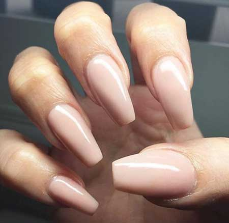 Nude, Nail Design, Nail Idea, Nail Art 2017, Nudes, Coffin, Beautiful, Natural