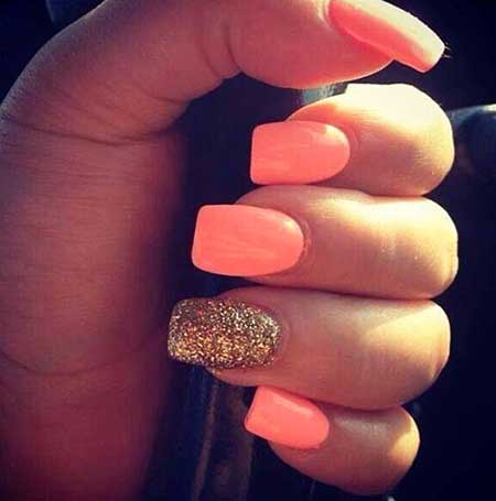 Cute Nails Summer Simple Easy 2017 - 13