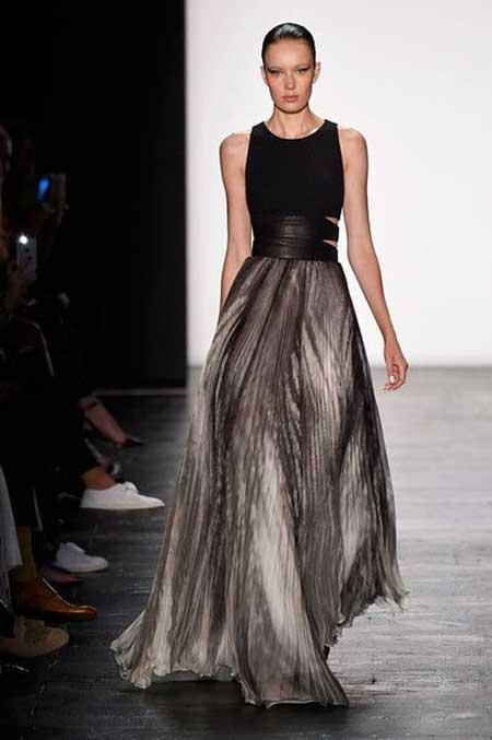 Runway Fashion Dresses Runway NewYork 2017 - 13