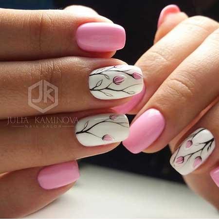 Nail Art 2017, Nail Design, Art, Pink, Nailart, Pink, Nail Idea, Manicures