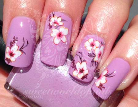 Nail Design, Nail Art 2017, Flower Nail, Kitty Nail, Pink, Art, Pink, Hello Kitty
