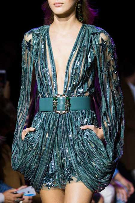 High Fashion Dresses Runway - 14