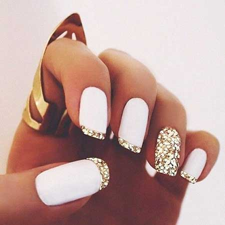 Simple Nails Summer Simple White - 14