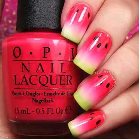 Nails Summer Simple Easy - 15