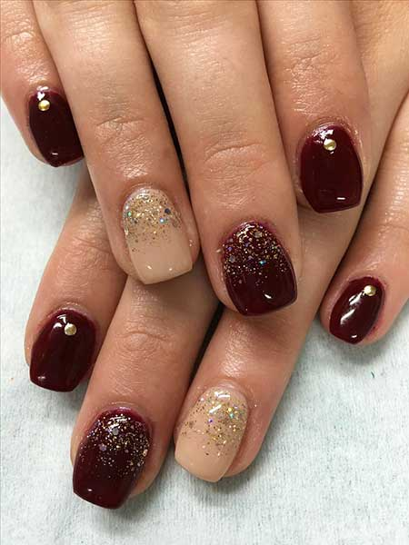 Nail Design, Nail Art 2017, Glitter, Nailart, Christmas, Nail Idea, Gel, Gel