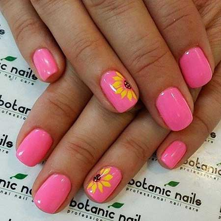 Nail Design, Nail Art 2017, Pink, Nailart, Pink, Summer, Nail Idea, Polka Dots
