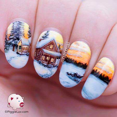 Nail Art 2017, Nail Design, Art, Nailart, Beach, Summer, Art