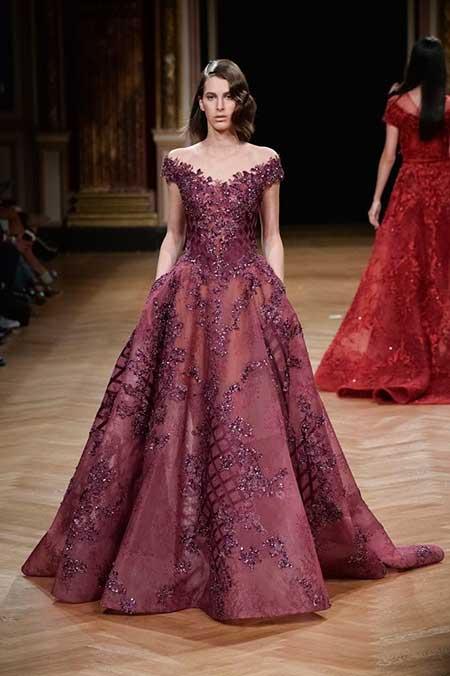 High Fashion Dresses Runway - 20