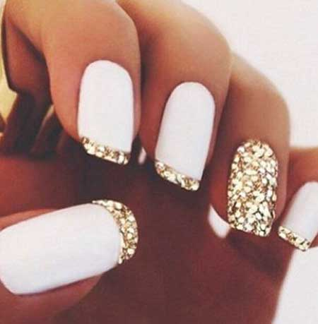 Simple Nails Summer Simple White - 20