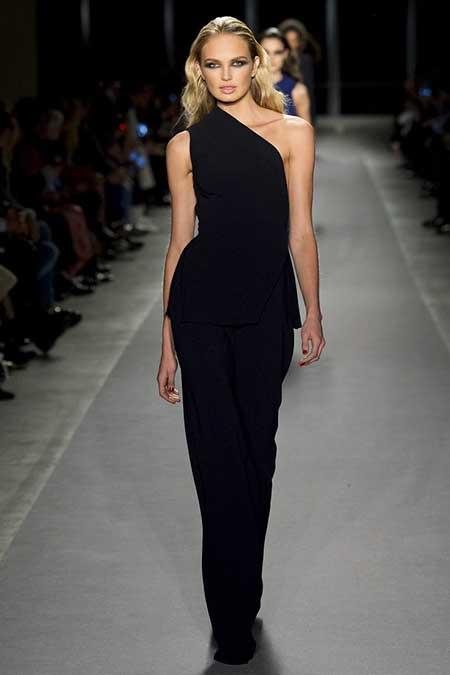 Fashion Dresses Runway NewYork - 21