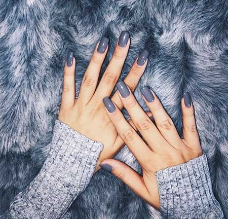 Grey Nail, Nail Art 2017, Nail, Nail Design, Winter, Rings, Nail Idea, Nail Ring, Beautiful