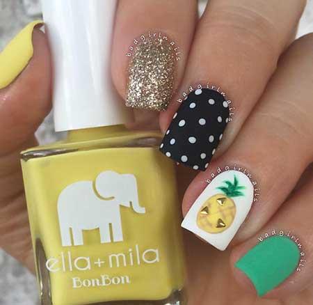 Summer Nails Summer Beach - 23