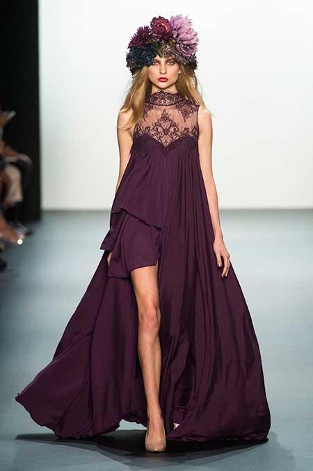Runway Fashion Dresses Runway NewYork 2017 - 24