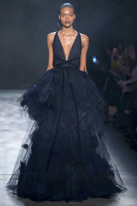 High Fashion Dresses Runway - 25