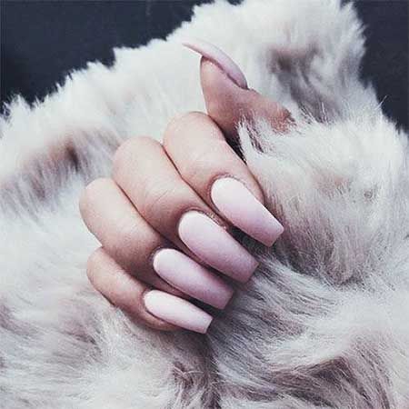 Nail Art 2017, Nail Design, Acrylic, Nude, Pretty Nail, Pink, Oval, Beautiful