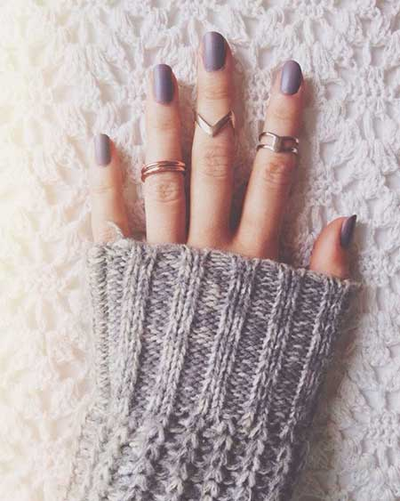 Midi Rings, Nude, Rings, Nail Design, Knuckle Rings, Nail Art 2017, Nail Idea, Matte Nail, Nail Colour