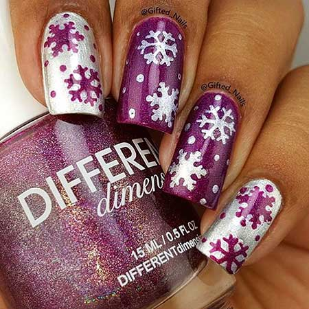 Nail Art 2017, Nail Design, Polish, Glitter, Nailart, Nail Polish, Art, Purple