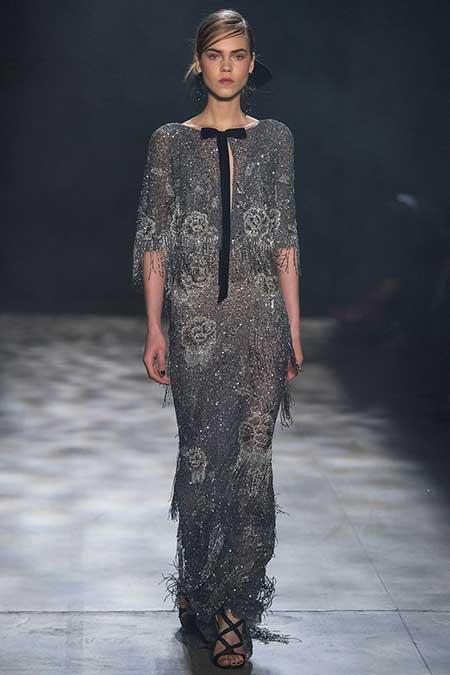 Runway Fashion Dresses Runway NewYork 2017 - 28