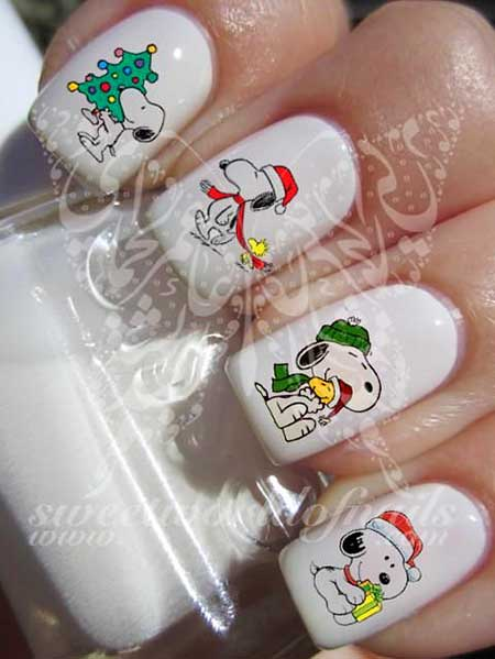 Nail Art 2017, Nail Design, Art, Christmas, Halloween, Water Decals, Decals, Holiday, Nail Water