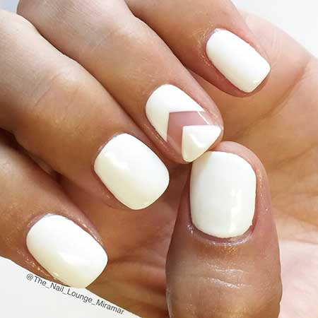 Simple Nails Summer Simple White - 29