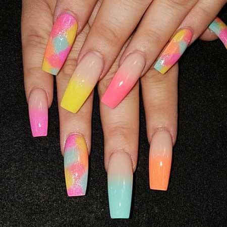 Nails Nails Summer Colors - 30