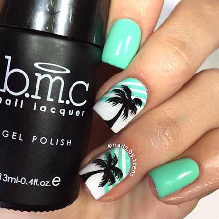 Summer Nails Summer Beach - 31