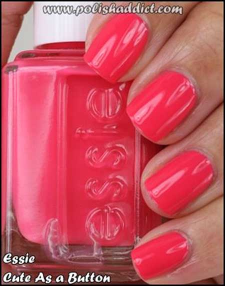 Summer Nails Summer Simple Coral - 31