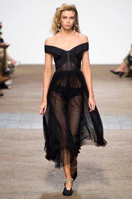 High Fashion Dresses Runway 2017 - 32