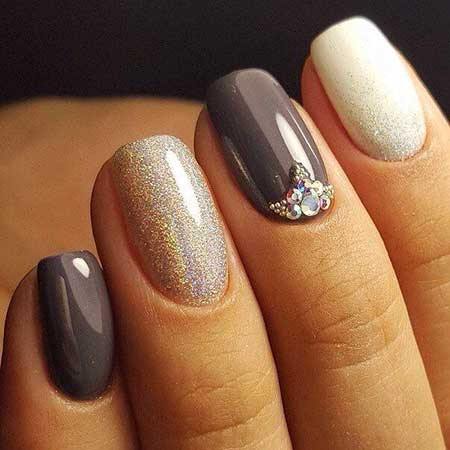 Nail Design, Half Moons, Nail Idea, Gold Nail, Nail Art 2017, Glitter, Pink And Gold, Pink, Gold