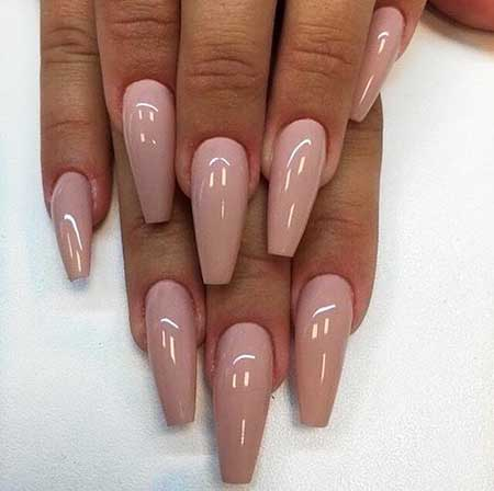 Coffin, Nail Design, Nail Idea, Nail Art 2017, Nude, Solinsnaglar, Nudes, Acrylic