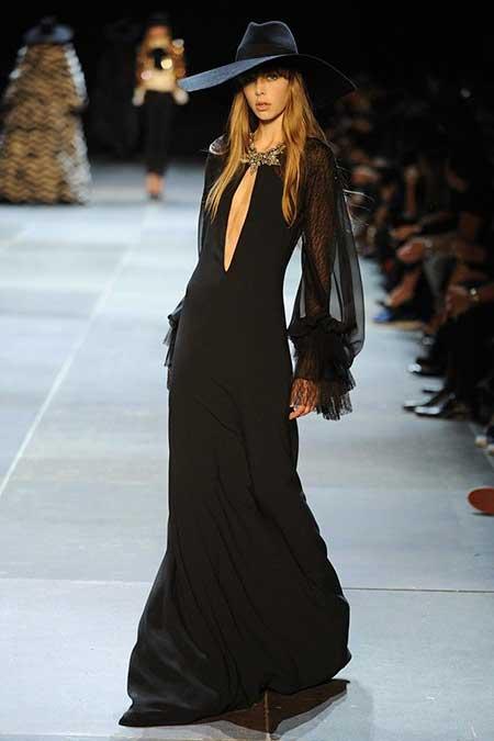 High Fashion Dresses Runway - 33