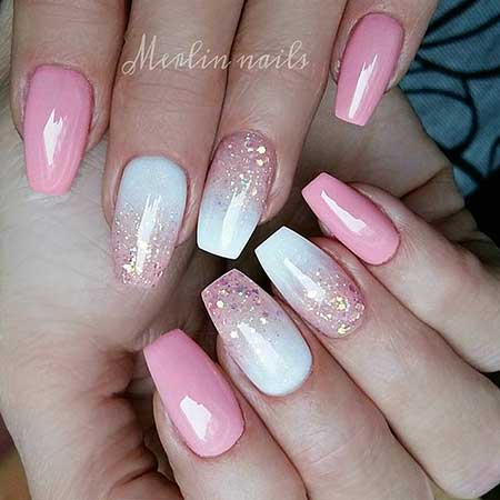 Acrylic Nails Summer Acrylic 2017 - 36
