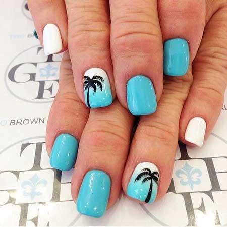 Summer Nails Summer Beach - 37