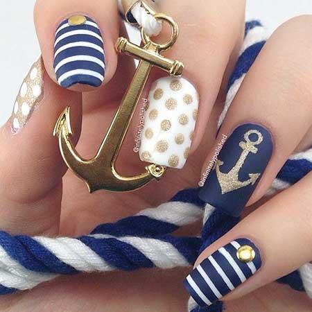 Nails Summer Beach