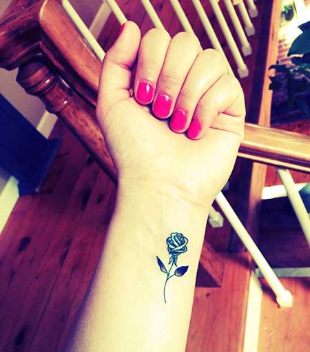 Tattoos Flower Small Wrist