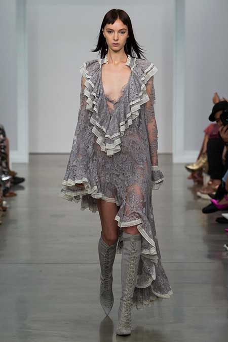 High Fashion Dresses Runway - 6