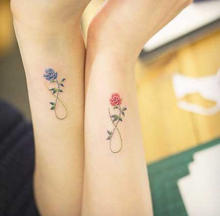Small Tattoos Flower Small Wrist - 6