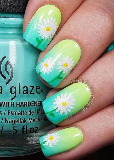Nail Design, Nail Art 2017, Neon Nail, Summer, Flower Nail, Nail Idea, Art, Spring