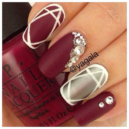 Nail Design, Nail Art 2017, Art, Nail Idea, Pretty Nail, Valentine Nail, Art